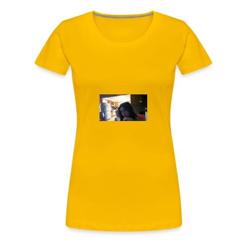 my face - Women's Premium T-Shirt