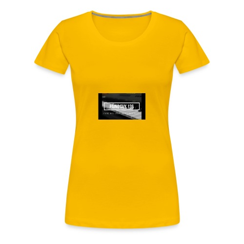 Paino Guy 136 - Women's Premium T-Shirt