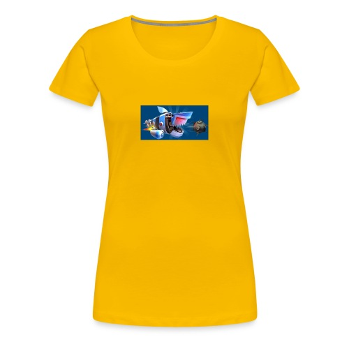 MightyJaws12 Logo - Women's Premium T-Shirt