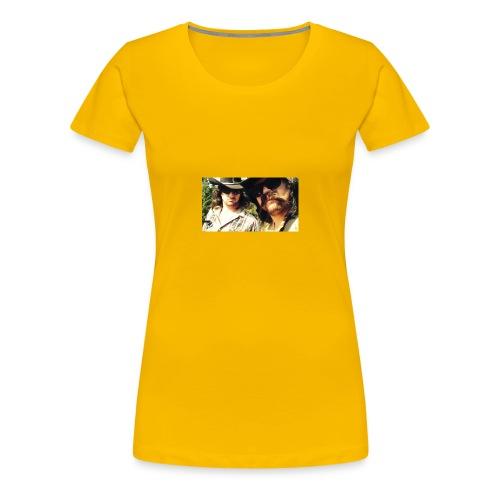 Jaw Thrust Cover Art - Women's Premium T-Shirt