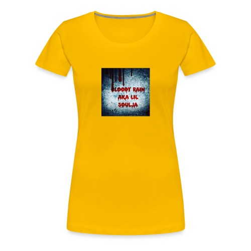 Bloody Rain aka Lil Soulja - Women's Premium T-Shirt