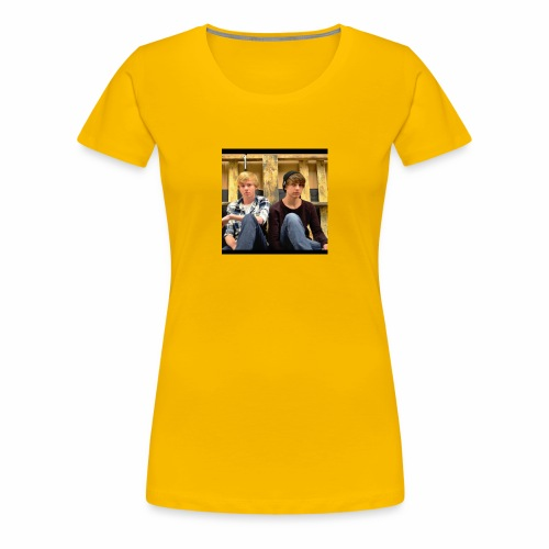 sam and colby fan - Women's Premium T-Shirt