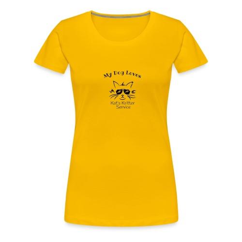 Dog Black - Women's Premium T-Shirt