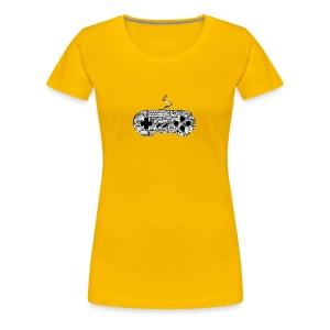 gamer controllers artwork - Women's Premium T-Shirt