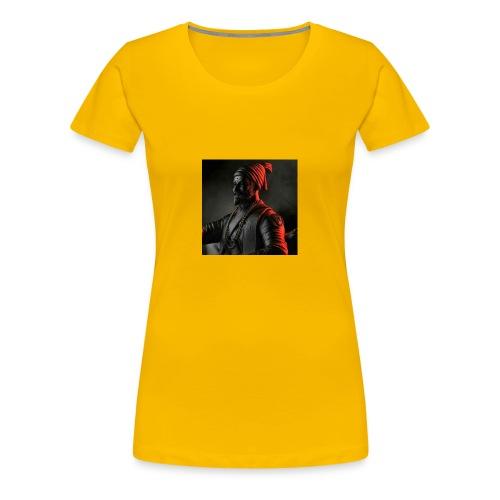 Shivaji Maharaj - 1 - Women's Premium T-Shirt
