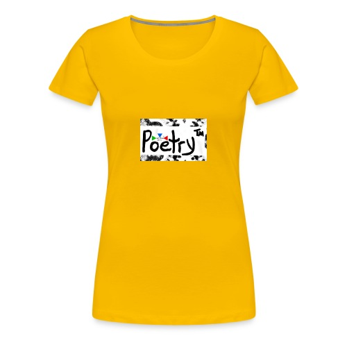 Getto Read Poetry - Women's Premium T-Shirt
