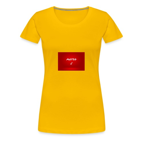 Mateo J - Women's Premium T-Shirt