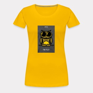 Fly Owl - Women's Premium T-Shirt