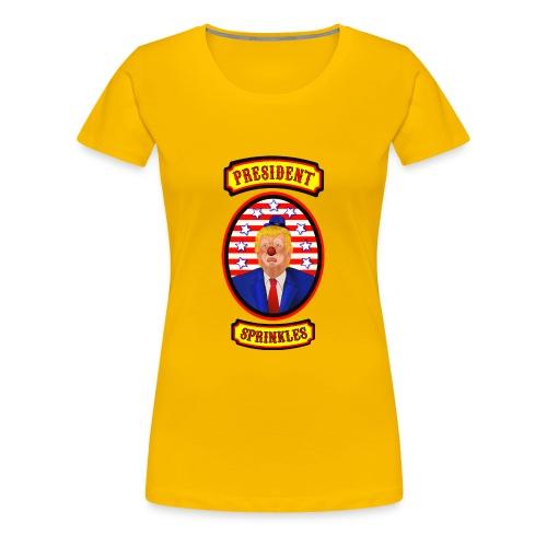 President Sprinkles - Women's Premium T-Shirt
