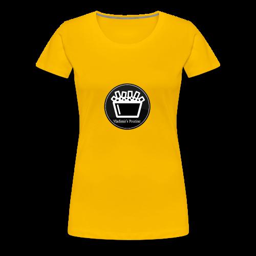 Vladimir s Poutine Logo - Women's Premium T-Shirt