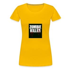 zombie killer shirt green - Women's Premium T-Shirt