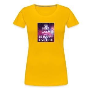 Keep calm shirt - Women's Premium T-Shirt