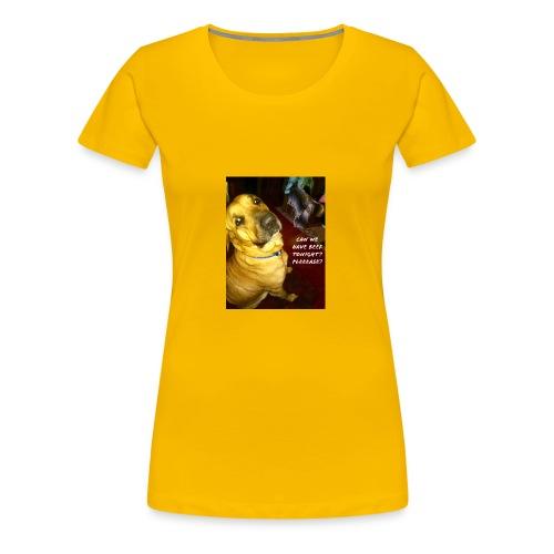 Her Thoughts - Women's Premium T-Shirt