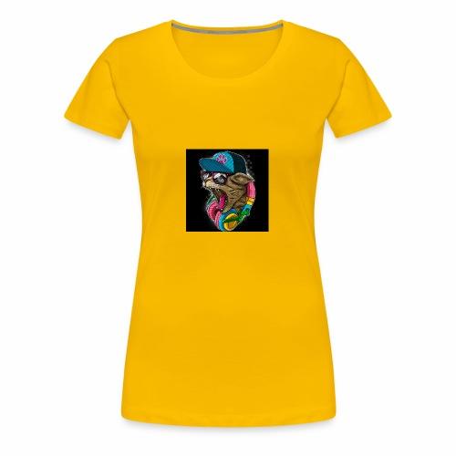 B84BFBE5 D095 47AF 8BEC F5E583CCC390 - Women's Premium T-Shirt