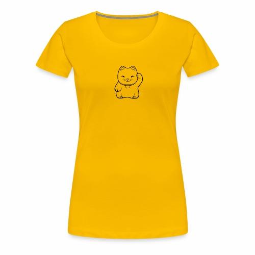 Maneki Neko - Women's Premium T-Shirt