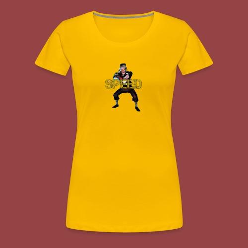 Speed - Women's Premium T-Shirt