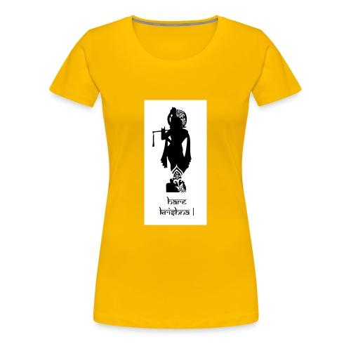 Krishna Consciousness - Women's Premium T-Shirt