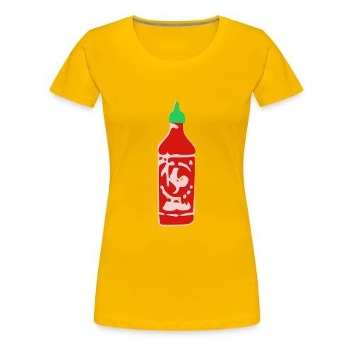 Hot Sauce Bottle - Women's Premium T-Shirt