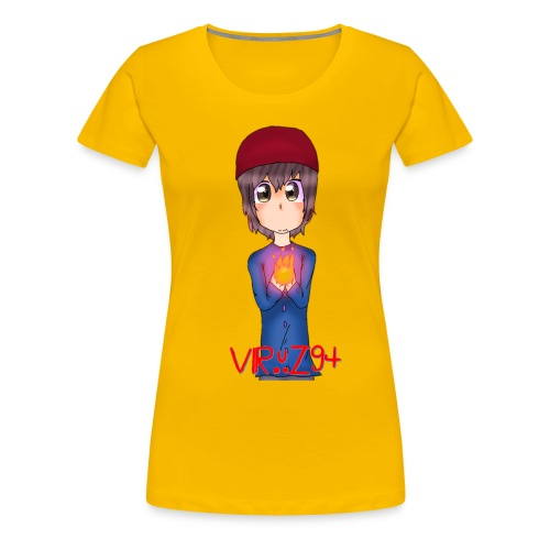 Viruz94, by Farin Draw - Women's Premium T-Shirt