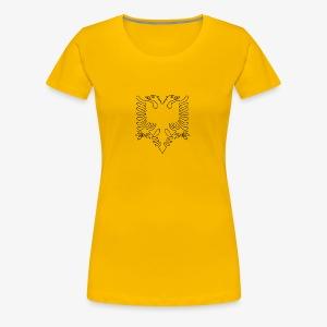Albanian Eagle - Women's Premium T-Shirt