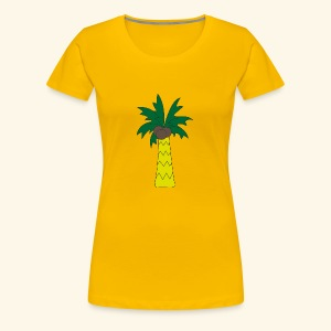 Palm tree - Women's Premium T-Shirt