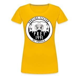 Hunting season emblem big - Women's Premium T-Shirt