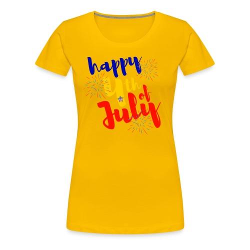 Happy 4th - Women's Premium T-Shirt