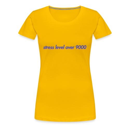 its over 9000 - Women's Premium T-Shirt
