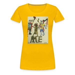 A pens two back to back on the attack - Women's Premium T-Shirt