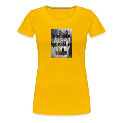 The meaning merch - Women's Premium T-Shirt