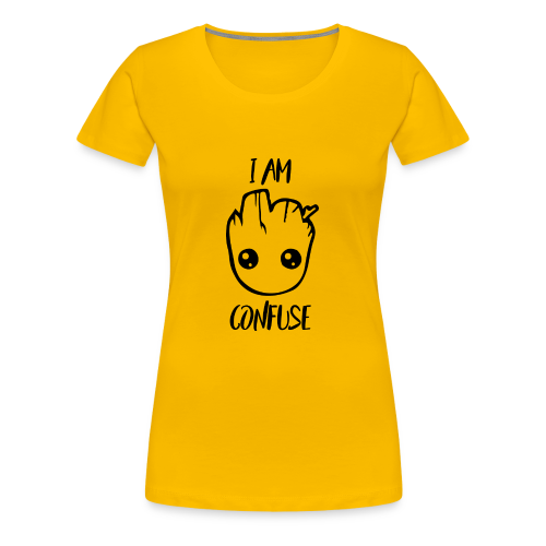 I Am Confuse Head - Women's Premium T-Shirt
