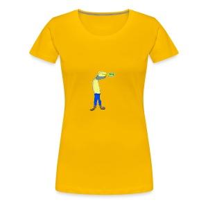 Singed sees something - Women's Premium T-Shirt