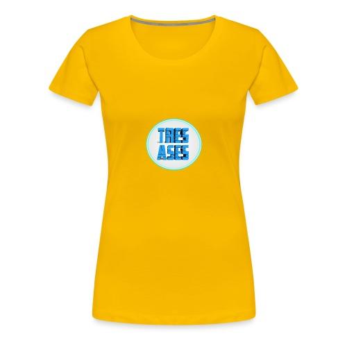 tres ases - Women's Premium T-Shirt