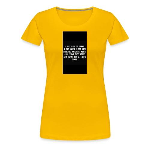 fullsizeoutput 15a3 Naked days - Women's Premium T-Shirt