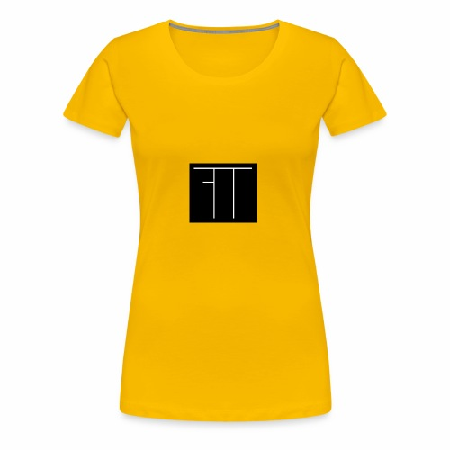 Funny Twin Logo - Women's Premium T-Shirt