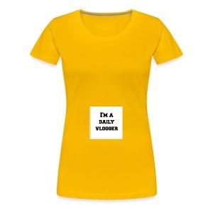 ImADailyVloggerMerch - Women's Premium T-Shirt