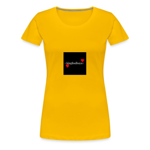 KIngfoolboys - Women's Premium T-Shirt