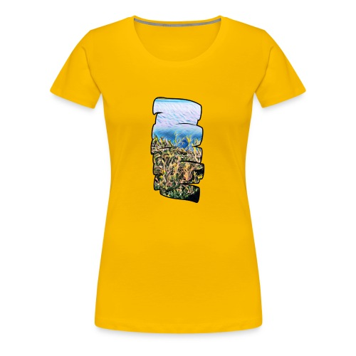 0834D9EF FDC1 4F57 B608 80F2A1A20684 - Women's Premium T-Shirt