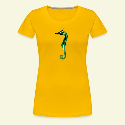 Phantom Sea Horse - Women's Premium T-Shirt