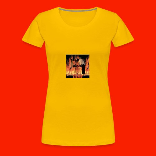 FAJ Flame Merch - Women's Premium T-Shirt