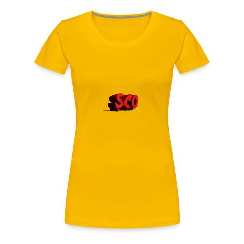Scoo - Women's Premium T-Shirt