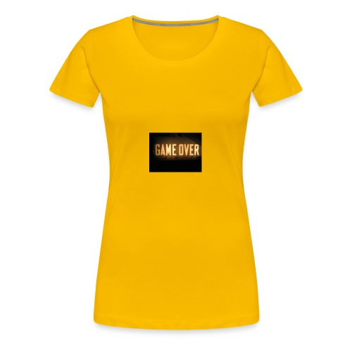 game-over tops ect - Women's Premium T-Shirt