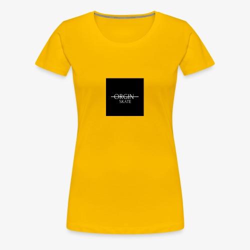 ORGIN SKATE CO. - Women's Premium T-Shirt