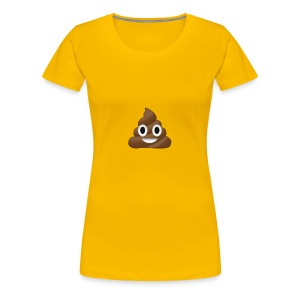 Poop clothing/mugs/phone cases. - Women's Premium T-Shirt