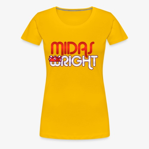 Midas Wright Official Logo - Women's Premium T-Shirt