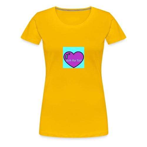 Tori's Logo Hoodie - Women's Premium T-Shirt