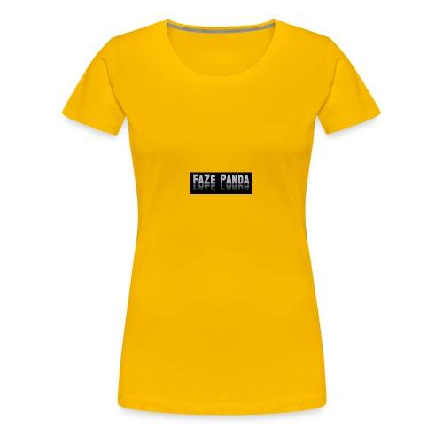 Faze Panda merch - Women's Premium T-Shirt