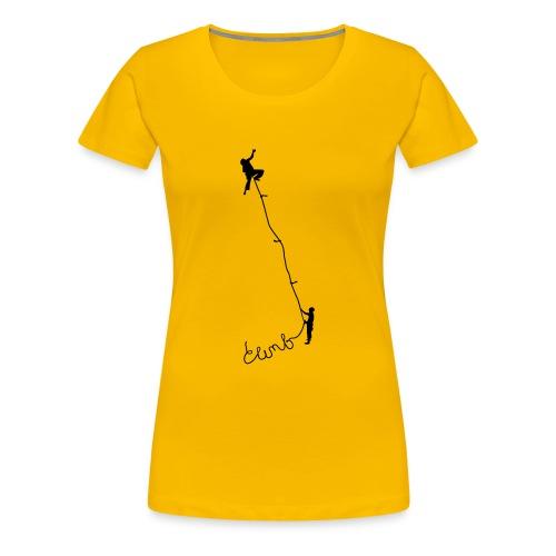 Climbing - Women's Premium T-Shirt