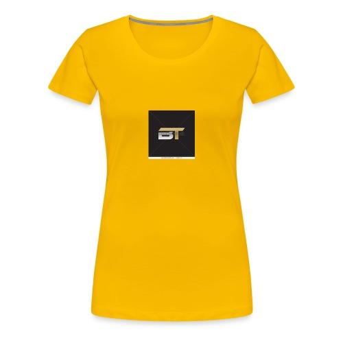 BT logo golden - Women's Premium T-Shirt
