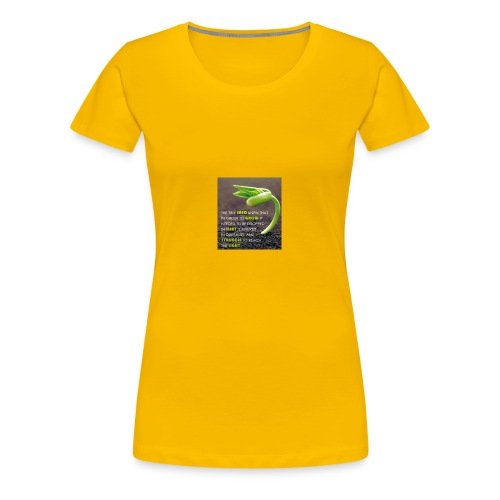 The Seed - Women's Premium T-Shirt
